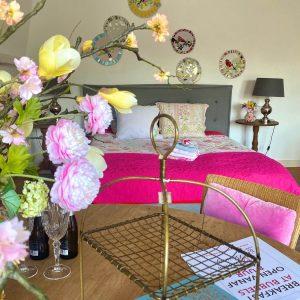 De grote kamer in onze bed & breakfast in Bilthoven: Bubbles & Bed.